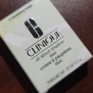 Clinique - all about shadow duo - strawberry fudge